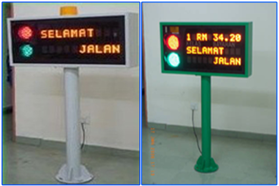 Toll Fare Indicator (TFI)